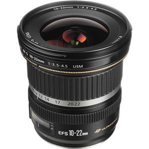 Canon EF-S 10-22mm f/3.5 4.5 USM Camera Lens